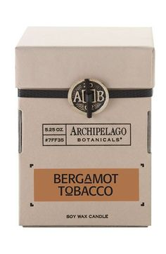 Archipelago Botanicals Signature Soy Wax Candle available at #Nordstrom