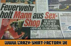 Der arme ...   #crazys #prost #fun #spass #rauchen #trinken #verrückt #saufen #irre #crazyshirtfactory #geilescheiße #funpic #funpics #mann #sexshop #feuerwehr