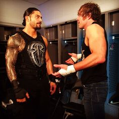 Brothers Forever Dean Ambrose and Roman Reigns Jonathan Lee, Roman Reigns Dean Ambrose, The Shield Wwe, Bae, Roman Reings, Wrestling Stars, Wwe Roman Reigns, Total Divas, Lucha Libre