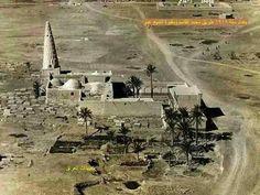 بغداد عام 1919 طريق محمد القاسم ومقبرة ومرقد الشبخ عمر السهروردي