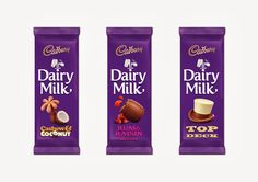 Cadburys Dairy Milk on Packaging of the World - Creative Package Design Gallery