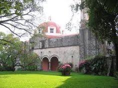 Iglesia de la Hacienda Chiconcuac, Morelos México