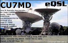 eQSL From CU7MD
