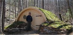 """We design and build a very limited number of custom, adult sized Hobbit Hole """"cottages"""". They are typically for customers who want a Hobbit Hole built to house-quality standards, designed for..."""