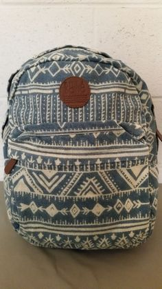 a57978846a New Billabong Hippie Ethnic Boho Print Backpack  Billabong  Backpack  Billabong Backpack