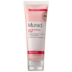 "$32 Murad: Pore Reform™ Skin Smoothing Polish (10K) ""This powerful exfoliating formula features micro-polishing beads that work to relieve clogged pores and blackheads while smoothing and softening. Witch hazel and cinnamon extract visibly tighten pores and balance oil production while starflower extract leaves newly polished skin soft and supple. Ideal as a weekly boost to your daily cleansing routine, this polish helps you do more for your pores without drying or irritating your skin."""