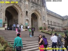 Tourist Attraction India: Tourist Place In Lucknow | Closer look of Bhool bhulayan