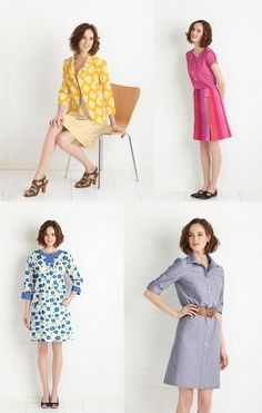 Lisette sewing patterns
