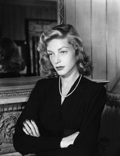 Bacall. Being magnificent.