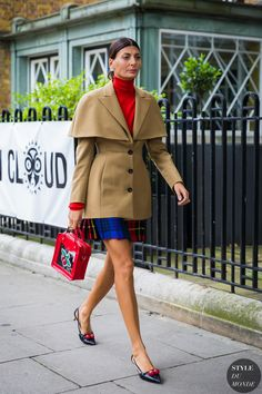 Giovanna Engelbert Battaglia by STYLEDUMONDE Street Style Fashion Photography