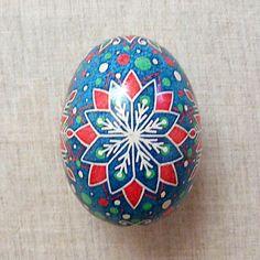 Ukrainian Pysanka. Easter Egg. Real Chicken Egg. by Vernisazh2014, $14.00