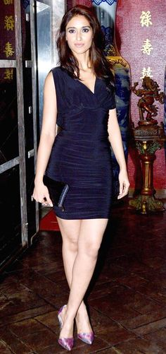 Ileana D'Cruz at the Phata Poster Nikla Hero completion bash. #Bollywood #Fashion