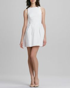 Jacquard Fit-and-Flare Dress by Erin by Erin Fetherston at Neiman Marcus.