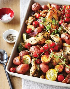 Herbed Chicken Tray Bake
