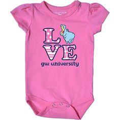 Product: George Washington University Colonials Infant Bodysuit