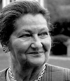 simone veil, one of the world's most courageous,powerfull people.