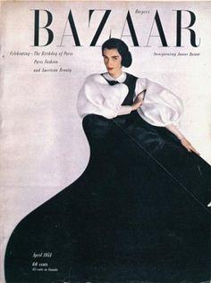 :: April 1951 Harper's Bazaar, Art Director Alexey Brodovitch
