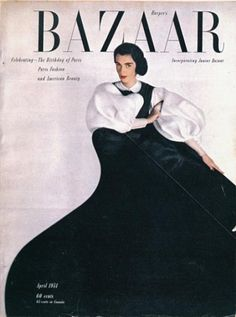 :: April 1951 Harper's Bazaar, Art Director Alexey Brodovitch