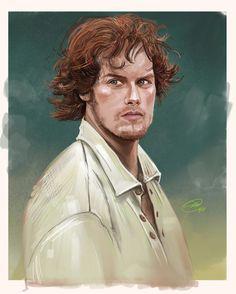 Jamie Fraser Outlander by girlfrog tumbl