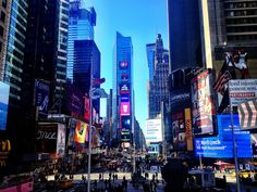 What to see in NYC for free - Times Square