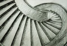 Architecture - Stairs in perspective Part II by Raquelita-94 on ...