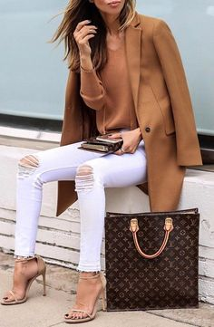 A brown blazer to keep your body warm and you extra stylish