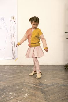 Brave Girls Wear Fashion Mixing And Combining Different Textures Fabrics Colours