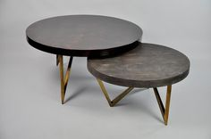 Ginger Brown France,galuchat,shagreen furniture   COFFEE TABLE