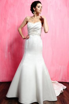 Eden Bridals 5127 Size 24 White - New, Never worn or Altered dresses at low prices!  www.BridalOutletofAmerica.com