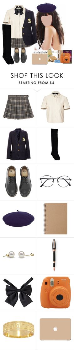 """""""Sem título #800"""" by jubs-is-here ❤ liked on Polyvore featuring Burberry, Enfants Riches Déprimés, Dr. Martens, kangol, Muji, Montegrappa, Kane, Fujifilm and 3M"""