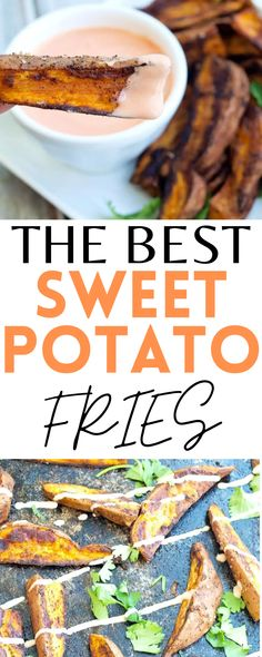 These are the BEST Sweet Potato Fries. The perfect, healthy side dish for summer. Gluten-free!