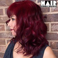 Dark+Burgundy+Hair