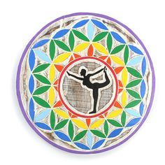 Yoga Pose Plaque