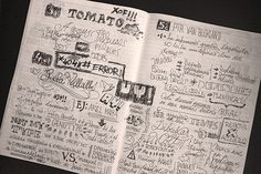 5th CIT NOTEBOOK (International Meeting of Tipography) by Jordi Sempere, via Behance