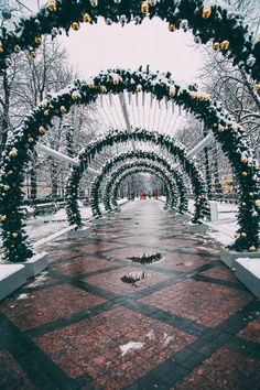 Christmas in Moscow, Russia is one of the most magical things I have ever seen in my life. It looks like this city was plucked right from. Merry Christmas To All, Christmas Images, Travel Around The World, Around The Worlds, Russian Landscape, Russian Winter, Moscow Russia, More Photos, City Photo