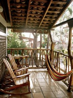 Life is simple now on the island of Ometepe, although archaeological finds (don't miss the delightful El Ceibo museum) suggest that it was an ancient hub. Here, a cabin at Ometepe's Hotel Villa Paraíso. (via Condé Nast Traveler)