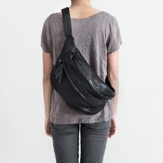 Oversized bum bag