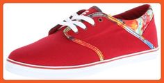 Etnies Women's Caprice Eco Slim Vulcanized Shoe,Red,8.5 M US - Sneakers for women (*Amazon Partner-Link)