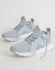 fe29857fa12 Puma Enzo Metallic Shoe - Women s Shoes in Quarry Puma Silver