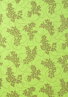 SPRING, Metallic Gold on Celery, T9284, Collection Avalon from Thibaut
