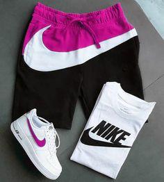 Cute Lazy Outfits, Summer Outfits, Nike Shorts, Gym Shorts Womens, Nike Clothes Mens, Nike Outfits, Active Wear, Nike Air, Swimwear
