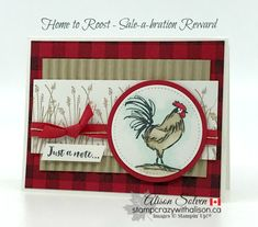 best=Card Swap Sunday Home to Roost FREE Sale a bration Reward Attractive Dress Home To Roost, Poinsettia Cards, Chickens And Roosters, Stamping Up Cards, Bird Cards, Animal Cards, Paper Cards, Cute Cards, Homemade Cards