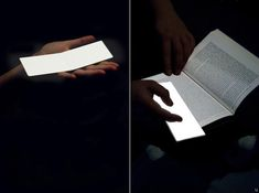 Lightleaf  This unique bookmark kills two birds with one stone – not only does it make sure you know where you last left off, it will also come with an illuminating surface that offers a glow bright enough to read in the dark without disturbing anyone else.