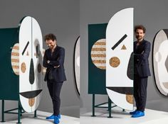 Designer Jaime Hayon  is taking over Milan Design Week with a one-of-a-kind display of Caesarstone. Instead of using the material as a countertop, Hayon designs intricate furniture and décor pieces implementing multiple colors of Caesarstone quartz in each.