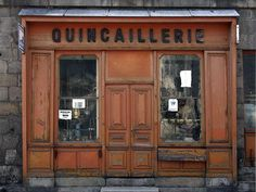 Photos of Vintage French Shopfronts