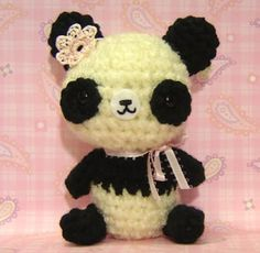 OMG this panda is so kawaii that i can eat it XD