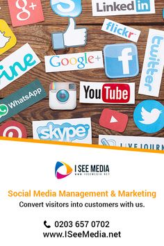 I See Media is Best Social Media agency in UK specialised in helping SME's grow their business with a strong online presence! Top Social Media, Social Media Company, Social Media Services, Social Media Marketing Agency, Digital Marketing Strategy, Digital Marketing Services, Set Up Account, Social Media Training, We The Best
