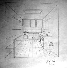 1 point perspective room 09