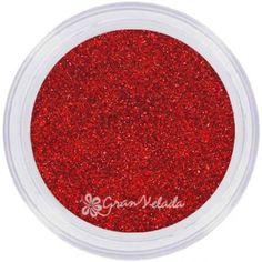 Purpurina Holográfica Roja
