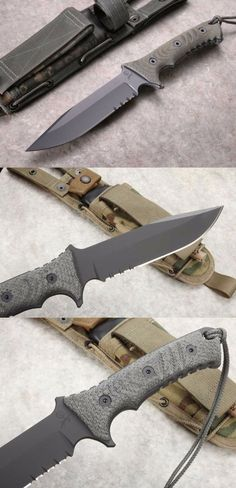 Wilderness Tips And Techniques For survival gear gadgets Tactical Life, Edc Tactical, Tactical Survival, Tactical Knives, Survival Knife, Survival Gear, Cool Knives, Knives And Tools, Knives And Swords